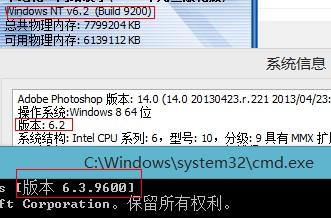 Windows8.1版本BUG