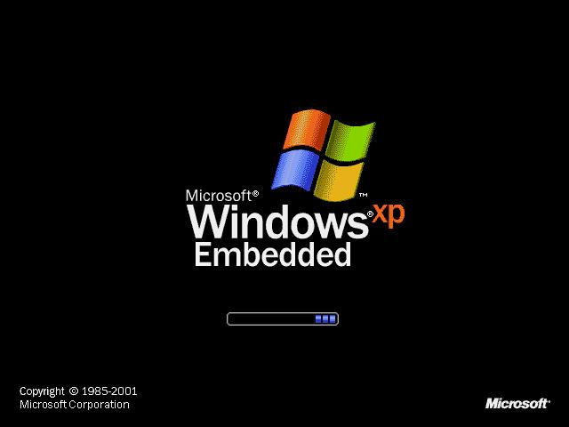 WinXPE 启动